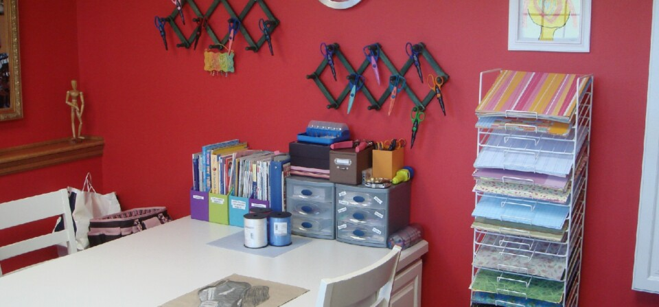 SOMMER craft room